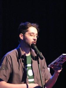 Der Sieger des Poetry Slam