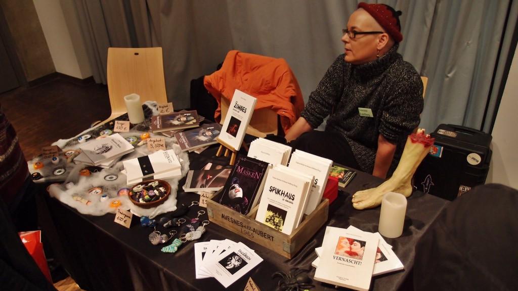 MuCon Simone vom WorKuss Verlag, Mitveranstalterin