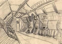 Skizze des Inneren