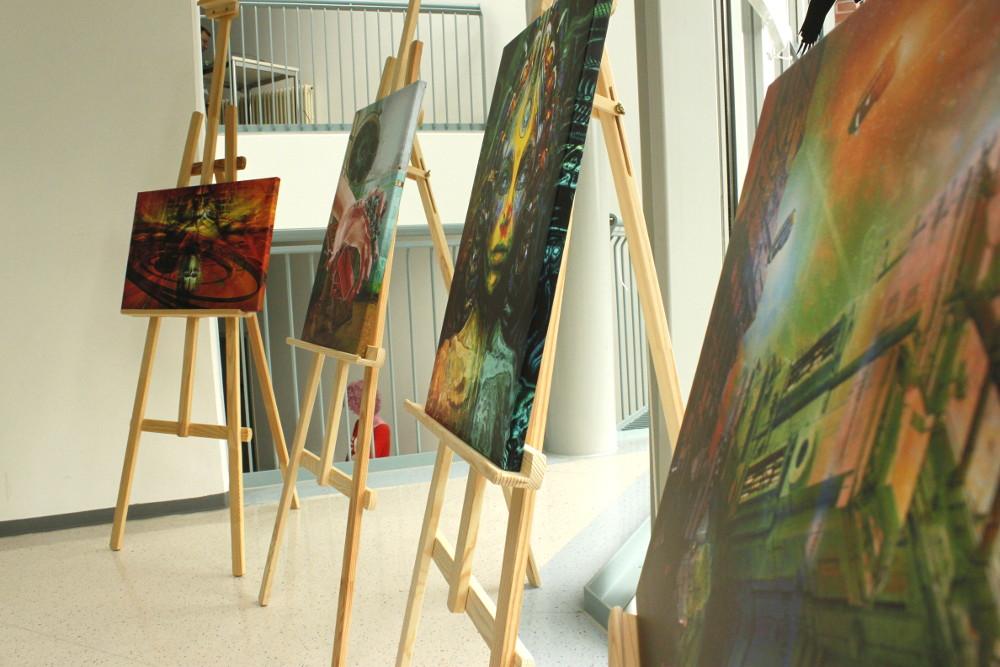 Ausstellung mit Werken von Lothar Bauer